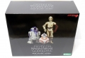 STAR WARS R2-D2 & C-3PO with BB-8 ARTFX+ STATUE
