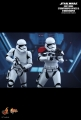 Star Wars: The Force Awakens First Order Stormtrooper Officer and First Order Stormtrooper 1/6th scale Collectible Figures Set