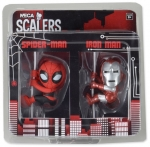 Iron Man and Spider-man Scalers 2-pack