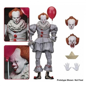 "IT – 7"" Scale Action Figure – Ultimate Pennywise (2017)"