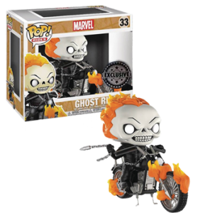 Pop!  Rides Marvel: Ghost Rider exclusive