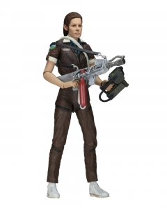 "Amanda Ripley in jumpsuit Alien Isolation 7"" NECA"