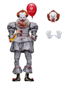 IT (2017) – 7″ Scale Action Figure – Ultimate Pennywise I heart Derry