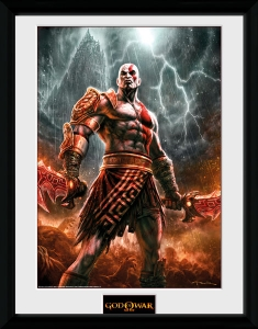 God of War: Kratos Lightning Collector Print