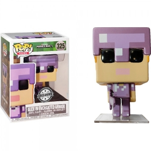 Pop! Games: Minecraft - Alex in enchanted armor