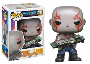 Drax Guardians of the Galaxy 2  (cenówka na pudelku)