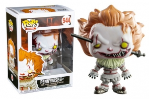 Pop! Movies: It - Pennywise with wrought iron exclusive