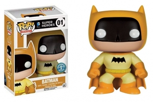 Pop Dc Heroes Batman Yellow exclusive