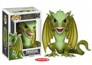 Rhaegal Game of Thrones 6 cali