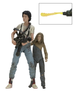 "Ellen Ripley and Newt- ""Rescuing Newt"" Deluxe Action Figure 2-Pack Aliens"