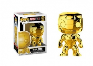 POP Marvel: MS 10 - Iron Man (Gold Chrome)