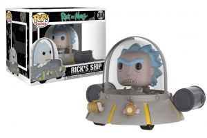 Pop! Ride Rick's Ship  Rick and Morty