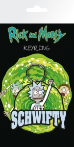 Rick and Morty: Get Schwifty Keychain brelok