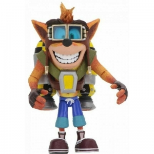 Crash Bandicoot: Deluxe Crash with Jetpack 7 inch Action Figure