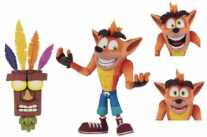Crash Bandicoot: Ultra Deluxe Crash Bandicoot 7 inch Figure