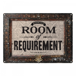 Harry Potter: Room of Requirement Metal Sign