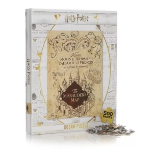 Harry Potter: Marauder's Map 500 Pieces Jigsaw Puzzle