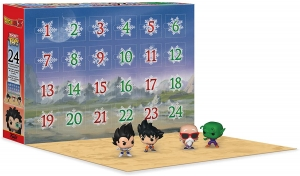 Advent Calendar: Dragon Ball Z	kalendarz