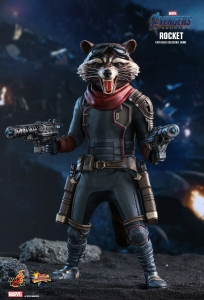 Marvel: Avengers Endgame - Rocket 1:6 Scale Figure Hot Toys