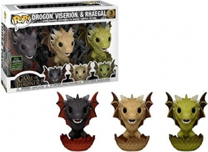POP TV: GOT - 3PK Dragon Egg