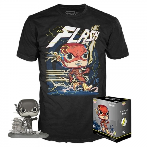 DC Jim Lee POP! & Tee Box Flash Exclusive Size S