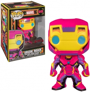 POP Marvel: Black Light- Iron Man