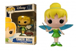 Pop! Disney: Peter Pan - Diamond Glitter Tinker Bell