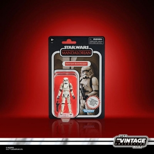 Star Wars The Mandalorian Vintage Collection Carbonized Action Figure 2020 Remnant Stormtrooper 10cm