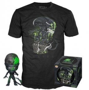 Alien POP! & Tee Box 40th Xenomorph Exclusive Size L