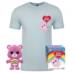 Care Bears POP! & Tee Box Cheer Bear Exclusive Size L