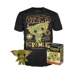 Gremlins POP! & Tee Box Gizmo Exclusive Size M