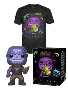 Avengers Infinity War POP! & Tee Box Thanos Size XL