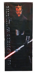Darth Maul Star Wars baner 50,8x121,9cm