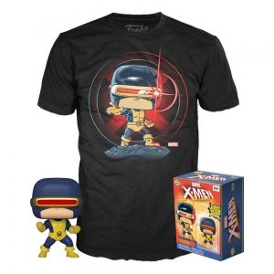 Marvel 80th POP! & Tee Box First Appearance Cyclops Size M
