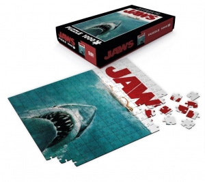 Jaws: Movie Poster 1000 Piece Puzzle