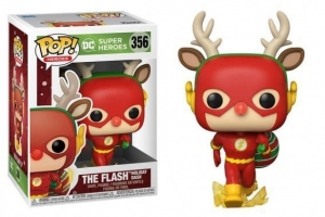 POP Heroes: DC Holiday- Rudolph Flash
