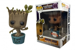 Dancing Groot Guardians of the Galaxy special edition