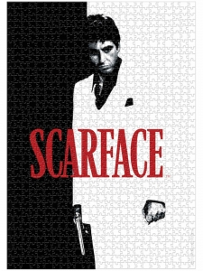 Scarface: Movie Poster 1000 Piece Puzzle