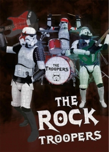 Star Wars: Rock Troopers 1000 pieces puzzle