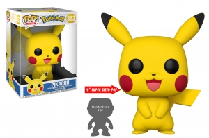 "Pop Games: Pokemon - 10"" Pikachu"