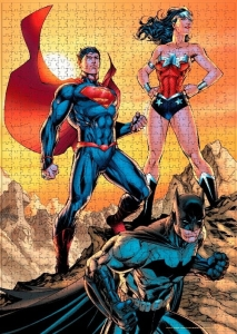 DC Comics: Superman with Batman and Wonder Woman 1000 Piece Puzzle
