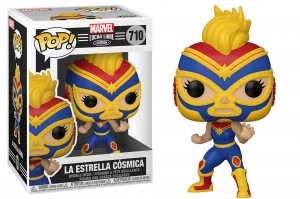 Pop! Marvel: Lucha Libre - Captain Marvel