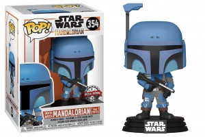 POP Star Wars: Mandalorian - Death Watch Mandalorian (Two Stripes)