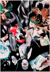DC Comics: Enemies of Batman 1000 Piece Puzzle