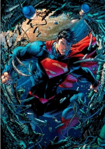DC Comics: Superman Scrap 1000 Piece Puzzle