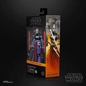 Star Wars The Black Series Asajj Ventress 6-Inch Scale The Clone Wars Collectible Action Figure