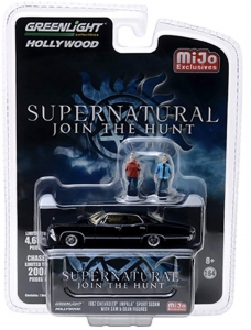 Supernatural: 1967 Chevrolet Impala with Figures 1:64 Black