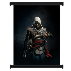 Assassin's Creed Black Flag Wall Scroll