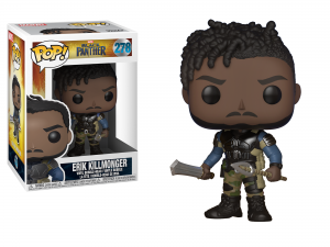 Pop! Marvel: Black Panther- Erik Killmonger
