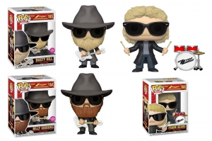 POP! Rocks: ZZ Top : Billy Gibbons, Dusty Hill, Frank Beard
